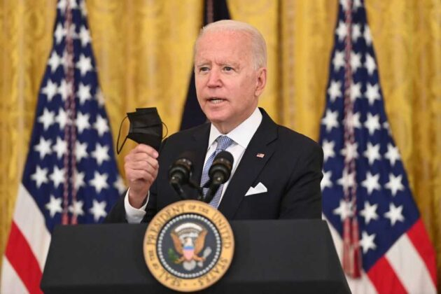 Watch Live: Biden provides update on COVID-19 vaccination efforts