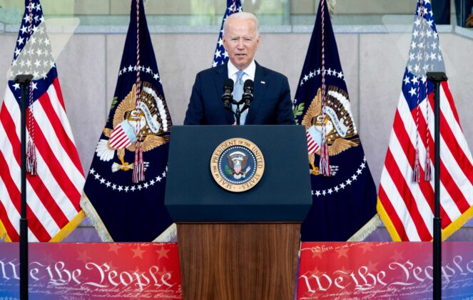 Watch Live: President Biden delivers remarks on the Senate-passed infrastructure bill