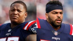 2 Patriots starters inactive for today's game against Jets