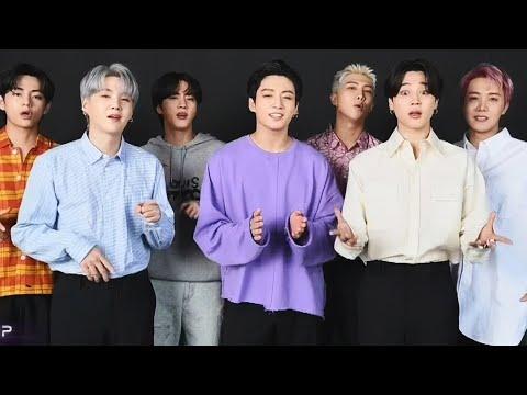 2021 VMAs: BTS Performs BUTTER A Capella While Accepting Award