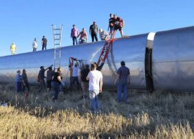 3 dead, at least 50 injured after Amtrak train derails in Montana