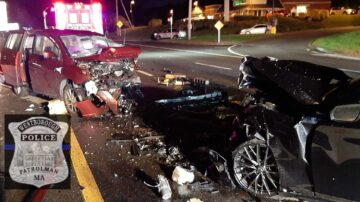 5 injured in wrong-way crash on Route 9, officials say