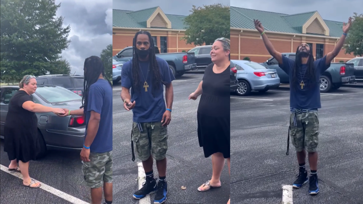 'A beautiful feeling': School helps raise money to surprise beloved custodian with a car