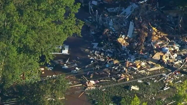 A New Jersey family evacuated during Ida flooding. Hours after leaving, an explosion destroyed their home