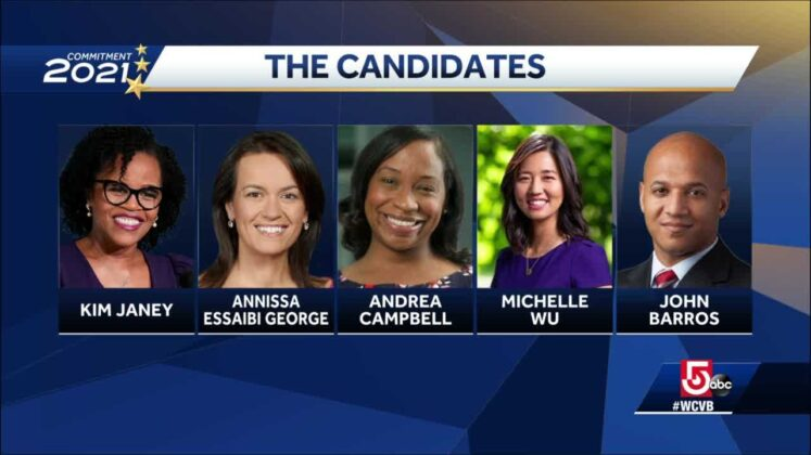Boston mayoral candidates jockey for second place