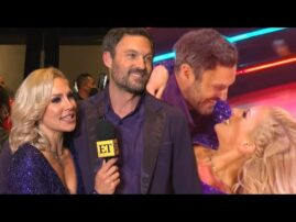 Brian Austin Green and Sharna Burgess on How 'DWTS' Is TESTING Their Romance (Exclusive)