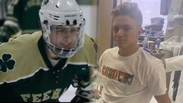 Bruins great organizes fundraiser for injured high school hockey players