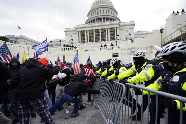 Capitol Police recommend Jan. 6 officers for discipline