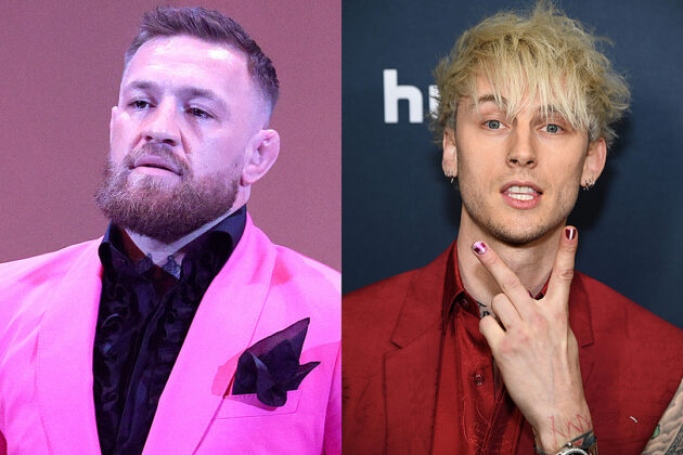 Conor McGregor to MGK: I Don't Fight 'Little Vanilla Boy Rappers'