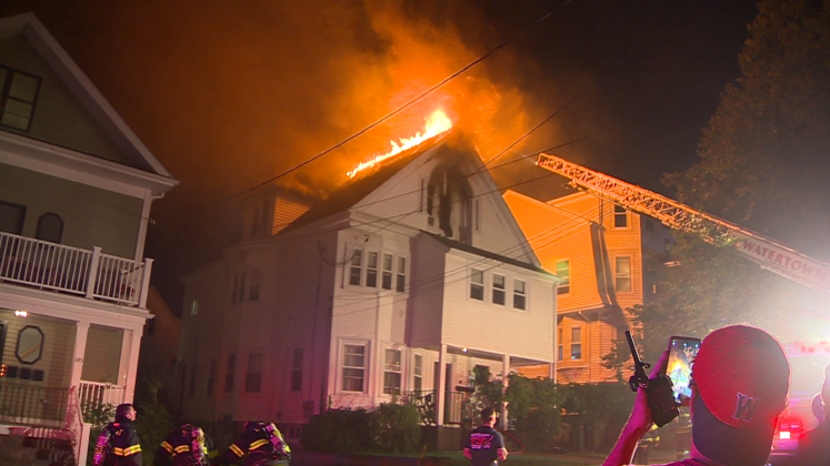 Crews working to determine cause of Watertown fire
