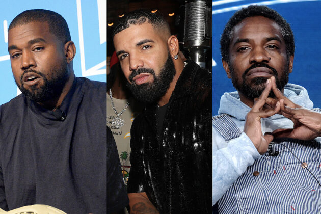 Drake Leaks Kanye West's Drizzy Diss Track Featuring Andre 3000