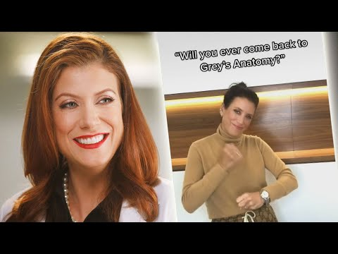 Grey's Anatomy: Kate Walsh Reveals She's RETURNING in TikTok Video