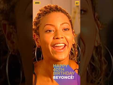 Happy 40th Birthday, Beyonce! #shorts