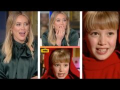 Hilary Duff REACTS To Her First ET Interview #shorts