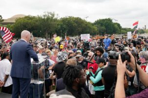 'Justice for J6' rally underwhelms, police outnumber Capitol protesters