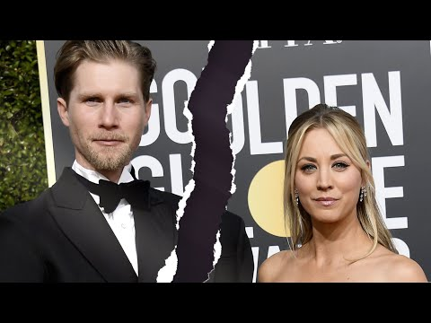 Kaley Cuoco and Karl Cook SPLIT
