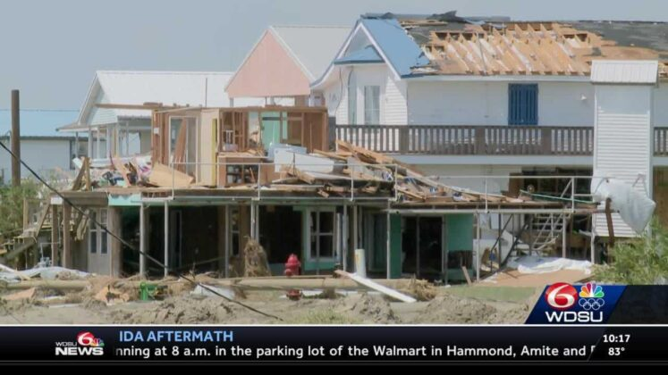 Louisiana residents of Grand Isle vow to call the island home again after it was hit hard by Ida