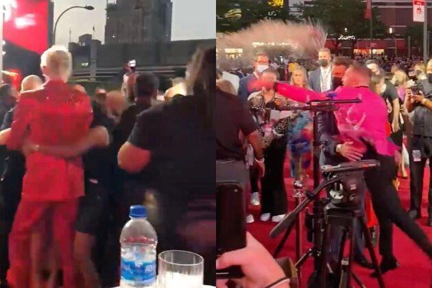Machine Gun Kelly and Conor McGregor Get Into Scuffle at MTV VMAs