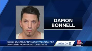 Man accused of trying to steal catalytic converters