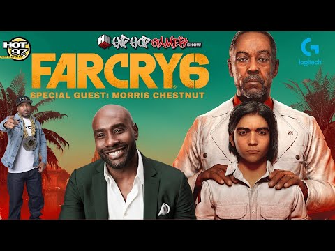 Morris Chestnut Talks New Show On FOX | FARCRY 6 Exclusive Gameplay | HipHopGamer