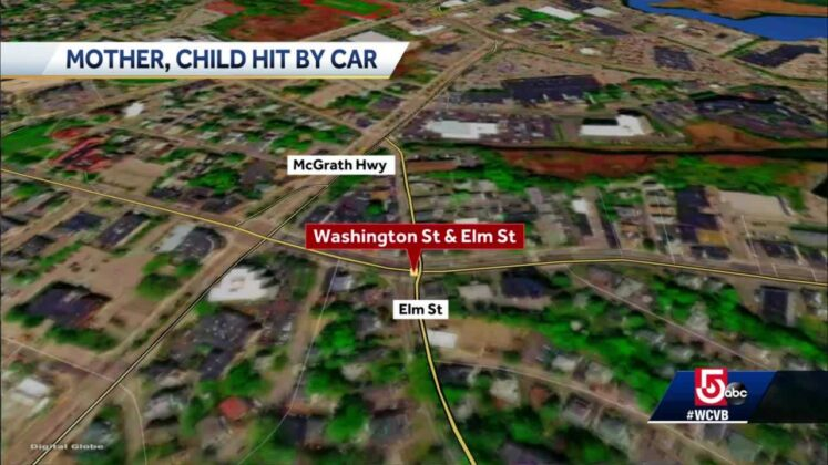 Mother, child struck by vehicle while walking to school