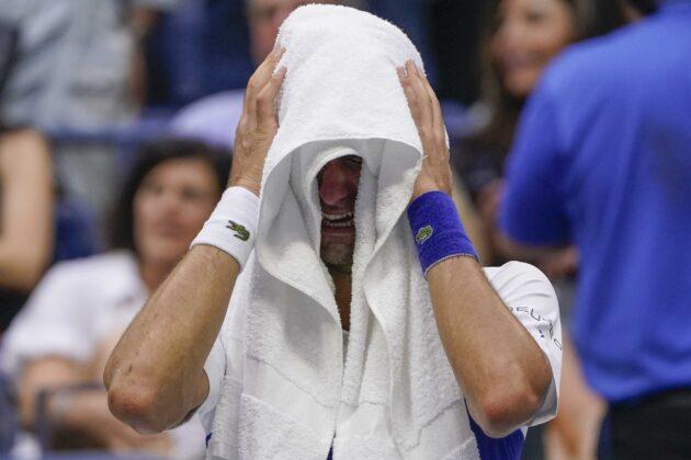 Novak Djokovic's bid for year Slam ends against Medvedev