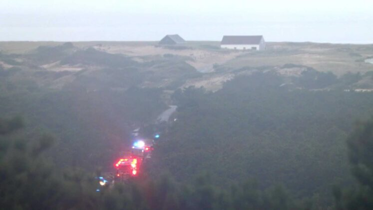 NTSB investigators at scene of fiery Cape Air plane crash in P-town