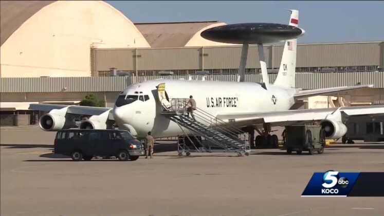 Officers at Oklahoma Air Force base remember responding to 9/11 attacks