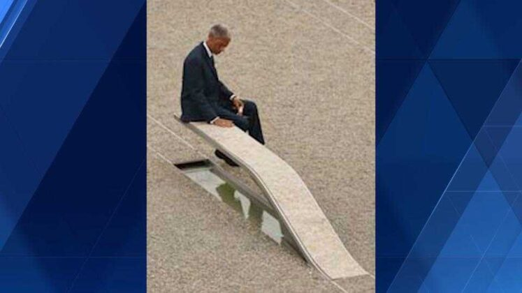 'People need compassion': Man marks 9/11 with inspiring message