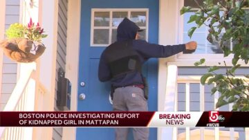Police search neighborhood after receiving kidnap report