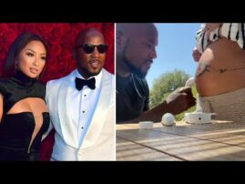 Pregnant Jeannie Mai and Jeezy REACT to Baby's Heartbeat