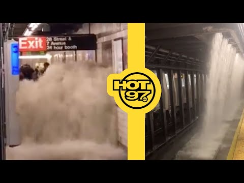 Reactions To The Aftermath Of Tropical Storm Ida In NYC & NJ!