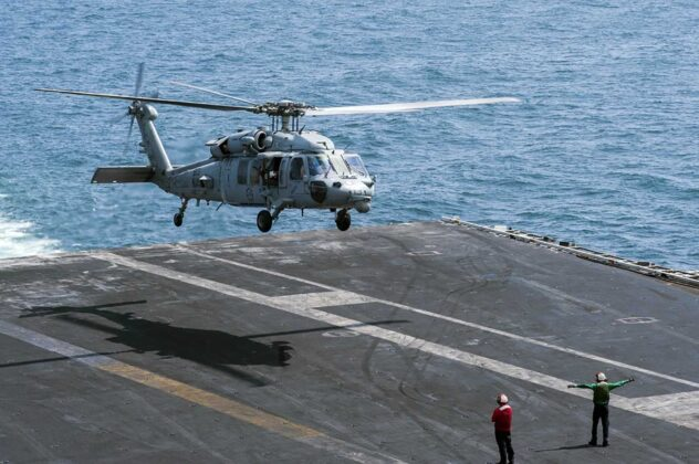 The US Navy has identified the five sailors killed in a helicopter crash off California