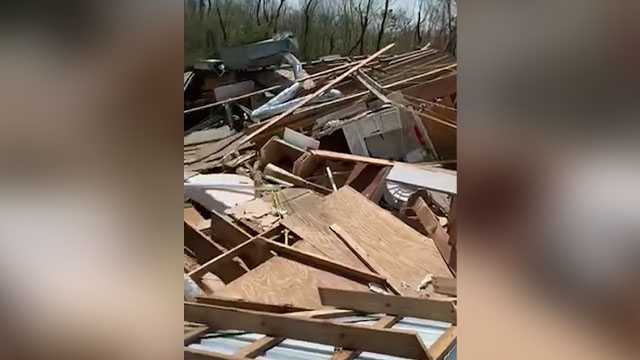 'This used to be my house': Video shows devastating Hurricane Ida destruction