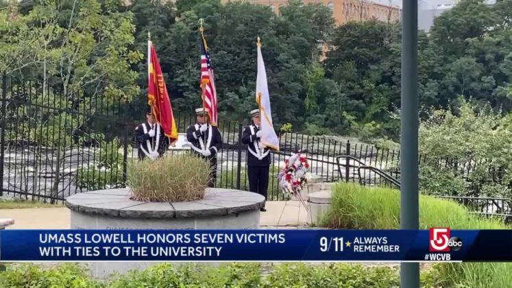 UMass Lowell memorial honors those lost on 9/11