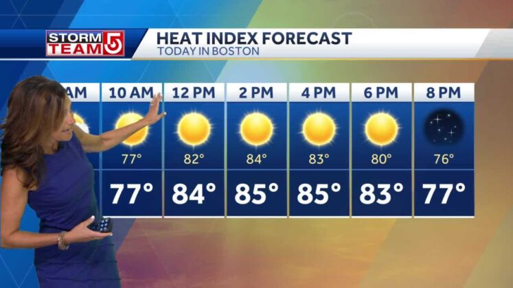 Video: Another day in 80s before cooler air moves in
