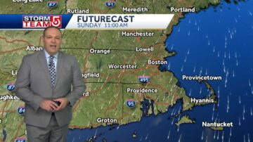 Video: Drier air on its way with plenty of sunshine in store