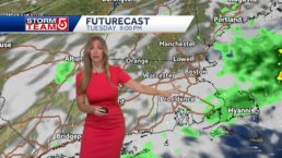 Video: Lingering rain will begin to clear late Tuesday night
