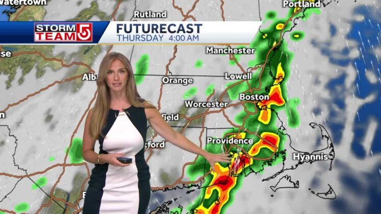 Video: Strong storms possible overnight; wet into Thursday