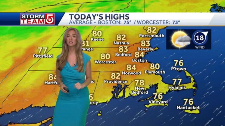 Video- Warm And Windy Ahead of A Stormy Night