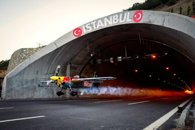 WATCH: Plane flies through tunnel — and sets Guinness World Record at the same time