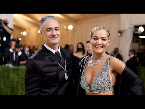 Watch Rita Ora and Taika Waititi Couple Up at the Met Gala 2021