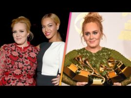 Adele and Beyonce's PRIVATE TALK After 2017 GRAMMYs
