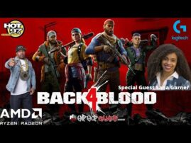 Back 4 Blood XBOX Gameplay   AMD FSR Beats NVIDIA DLSS   Sara Garner Backyard Blowout Interview
