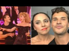 DWTS: Melanie C and Gleb REACT to SHOCKING Elimination (Exclusive)