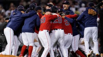 Here's the schedule for the Red Sox playoff series against Rays