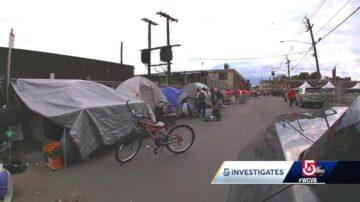 Humanitarian crisis on Boston's 'Methadone Mile' grows worse