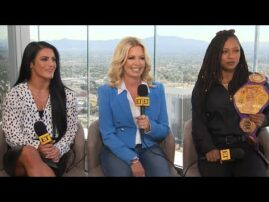 Jeanie Buss on Relaunching of WOW Women of Wrestling (Exclusive)