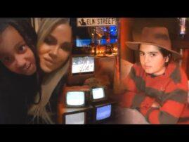 Kardashian Kids Attend Kylie Jenner's HALLOWEEN Dinner