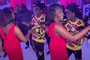 Kodak Black Touches Mother Inappropriately, Tries to Kiss Her